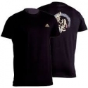 T-SHIRT NOIR M. C. WARRIOR ADIDAS